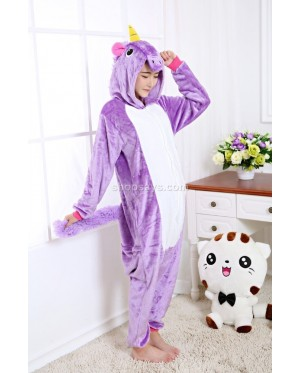 Unicorn Adult Pajamas Cosplay Kigurumi Onesie Anime Costume Sleepwear