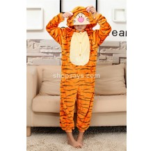 Tiger Kids Children Pajamas Cosplay Kigurumi Onesie Anime Costume Sleepwear