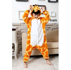 Giraffe Kids Children Pajamas Cosplay Kigurumi Onesie Anime Costume Sleepwear