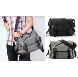 Men Canvas Messenger Bag