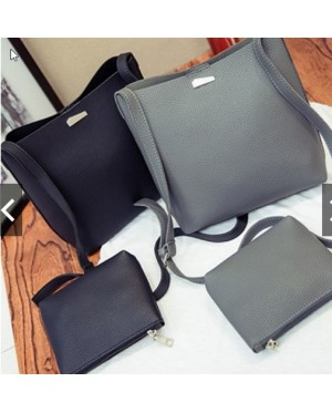 2in1 Marble Sling Bag Set