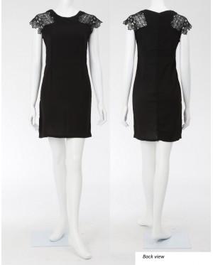 Rachel Lace Sleeve Dress