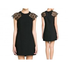 Rachel Lace Sleeve Dress