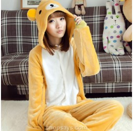 Happy Bear Unisex Adult Kigurumi Pyjamas Onesie Anime Costume