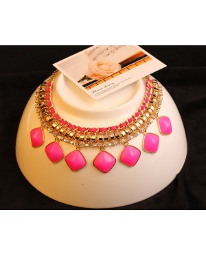 Angel Rhinestone Statement Necklace + FREE Gift box
