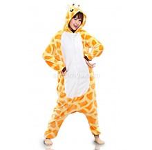 Giraffe Unisex Adult Pajamas Cosplay Kigurumi Onesie Anime Costume Sleepwear
