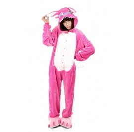 Pink Stitch Unisex Adult Pajamas Cosplay Kigurumi Onesie Anime Costume Sleepwear