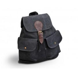 Canvas Backpack Shoulder Bag For School Travel Outdoor Rucksack