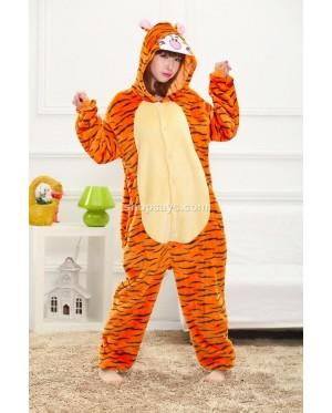 Tiger Adult Pajamas Cosplay Kigurumi Onesie Costume Sleepwear