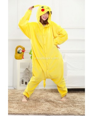Electric Mouse Adult Pajamas Cosplay Kigurumi Onesie Costume Sleepwear