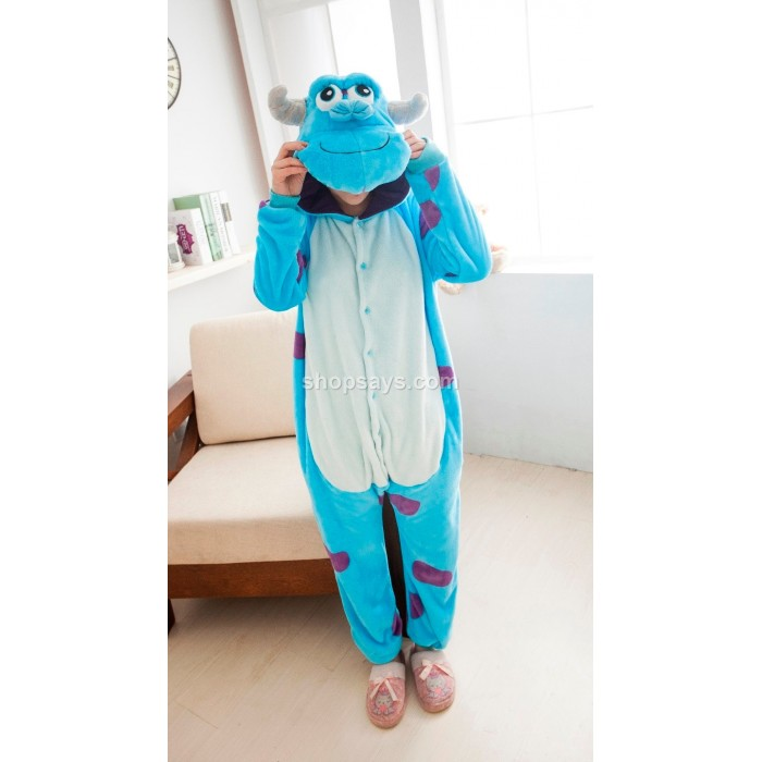 Sullivan Sully Adult Pajamas Cosplay Kigurumi Onesie Costume Sleepwear  sc 1 st  Shopsays.com & Monster Sullivan Sully Unisex Adult Pajamas Cosplay Kigurumi Onesie ...