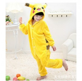 Electric Mouse Kids Children Pajamas Cosplay Kigurumi Onesie Anime Costume