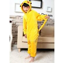 Electric Mouse Kids Children Pajamas Cosplay Kigurumi Onesie Anime Costume