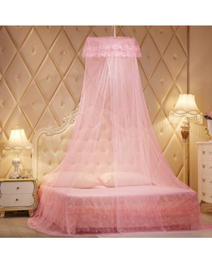 Lace Canopy Netting Round Dome Mosquito Net Kelambu (King 1 Door)