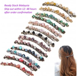 Hair Accessories Hairpin Hair Clip Crystal