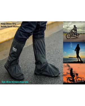 Motorcycle Waterproof Rain Boot Shoes Cover Non-slip Thick Boots Cover 100% Waterproof