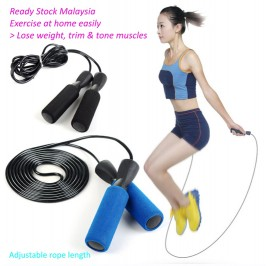 Jump Rope Skipping Rope for Fitness Training Workout Exercise Boxing Speed Skip Training Athletic Sports Gym Jumprope