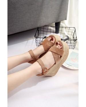 High Wedge Stylish Platform Ladies Shoes
