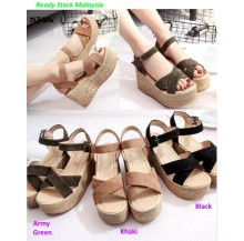 High Wedge Stylish Platform Ladies Shoes