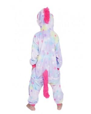 Star Unicorn Kids Children Pajamas Cosplay Kigurumi Onesie Anime Costume