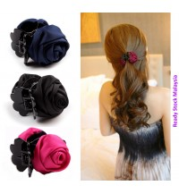 Korean Hair Clip Rose Claw Hair Accessories Hairpin Barrette for Women Girls