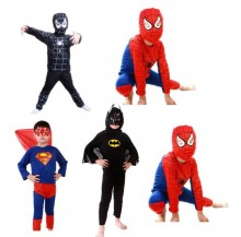 Kids Superhero Halloween Party Costumes (lightweight material)