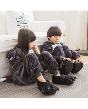 Wolf Kids Children Pajamas Cosplay Kigurumi Onesie Anime Costume