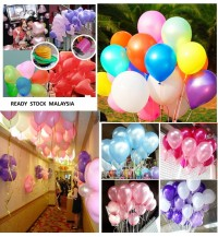 [50/20pcs] 12in Latex Balloons for Party/ Birthday/ Wedding