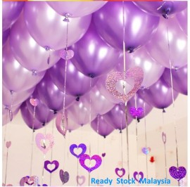 [50/20pcs] 12in Latex Pearl Balloon Party/ Birthday/Wedding (Shiny)