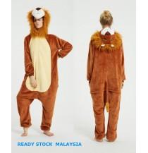 3D Lion Adult Unisex Pajamas Cosplay Kigurumi Onesie Costume Sleepwear