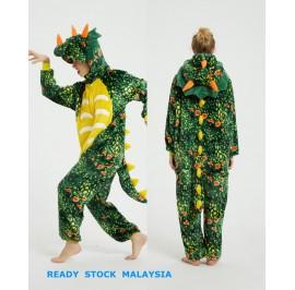 3D Triceratops Adult Unisex Pajamas Cosplay Kigurumi Onesie Costume Sleepwear