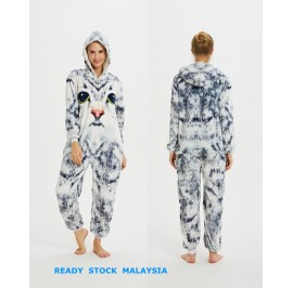 3D Cat Adult Unisex Pajamas Cosplay Kigurumi Onesie Costume Sleepwear