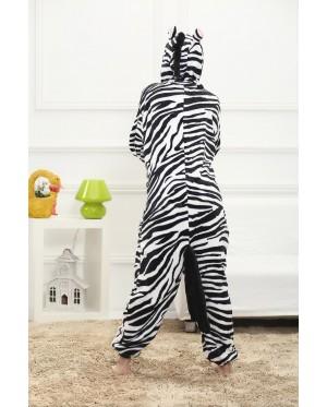 Zebra Adult Unisex Pajamas Cosplay Kigurumi Onesie Costume Sleepwear