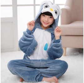 Owl Kids Children Pajamas Cosplay Kigurumi Onesie Anime Costume