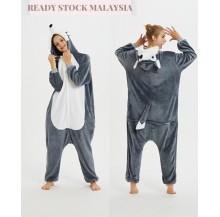 3D Husky Adult Unisex Pajamas Cosplay Kigurumi Onesie Costume Sleepwear